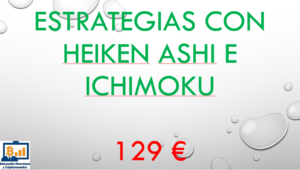 Estrategias con velas Heiken Ashi y nubes de Ichimoku