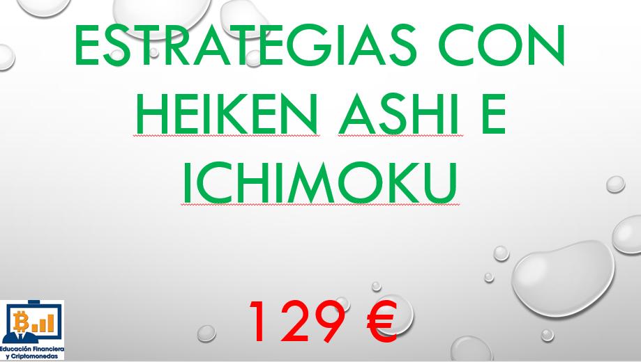 Lee más sobre el artículo Estrategias con velas Heiken Ashi y nubes de Ichimoku