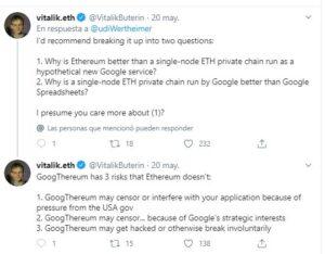 GoogThereum y AmazThereum: ¿el futuro de Google y Amazon pasa por Ethereum?