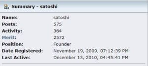 Bibliografía de Satoshi Nakamoto. ¿Que sabemos de el o ellos?