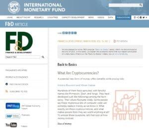 Bitcoin es tecnología para el ahorro. FMI nos explica que son las criptomonedas y sus beneficios. OMG.