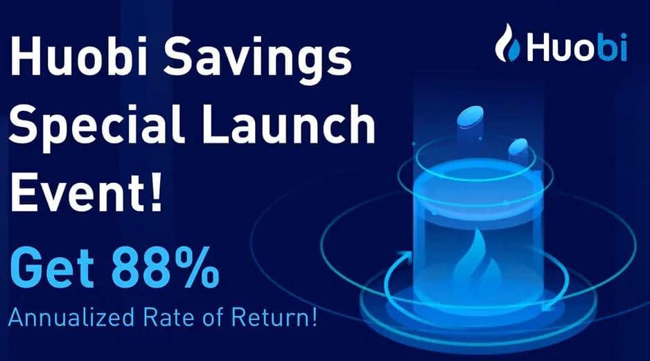 Huobi te da un 88% de interés anual. Los Exchanges se lanzan al mundo Defi para no quedarse atrás.