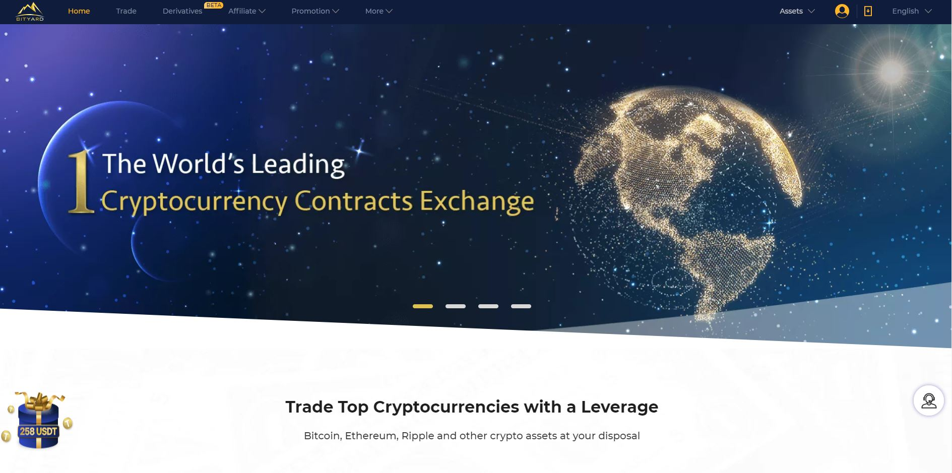 Bityard: The World's Leading Cryptocurrency Contracts Exchange. Hasta 258 USDT en bonos. Aprovecha.