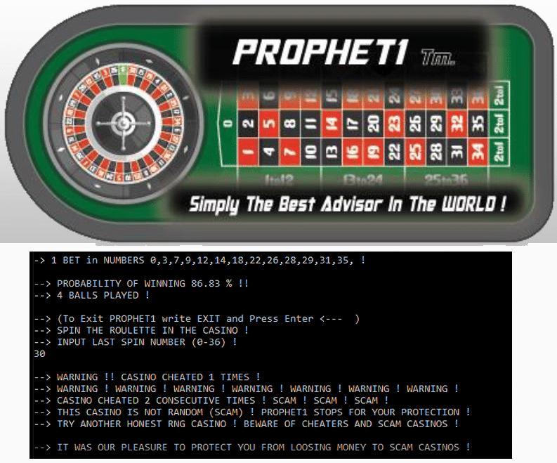 Se Ganador: La nueva serie X de Prophet1Tm máxima tus ganancias y minimiza tus riesgo en Ruletas Europeas y Americanas.