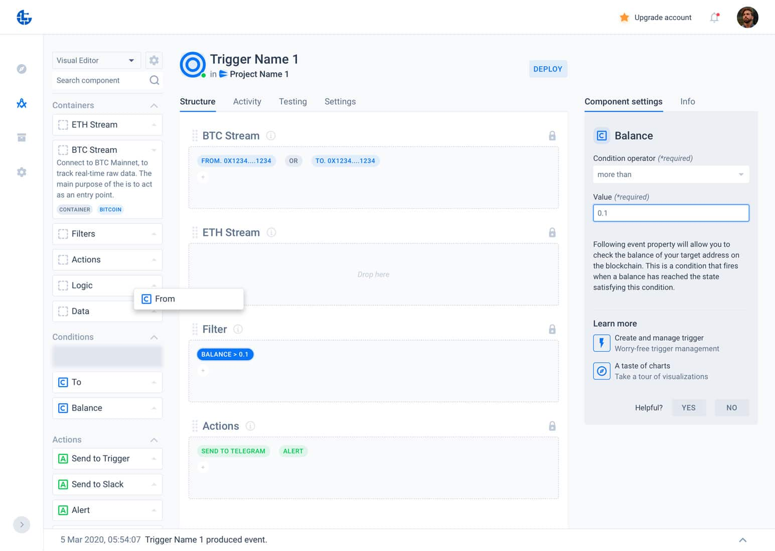 Parsiq monitoriza y recibe avisos en tiempo real de tus wallets de Bitcoin y Ethereum. Secure Defi.