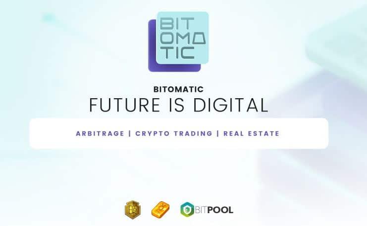 Presentamos BITOMATIC: el futuro es lo digital. Entramos en BITPOOL en la fase de pre-lanzamiento..