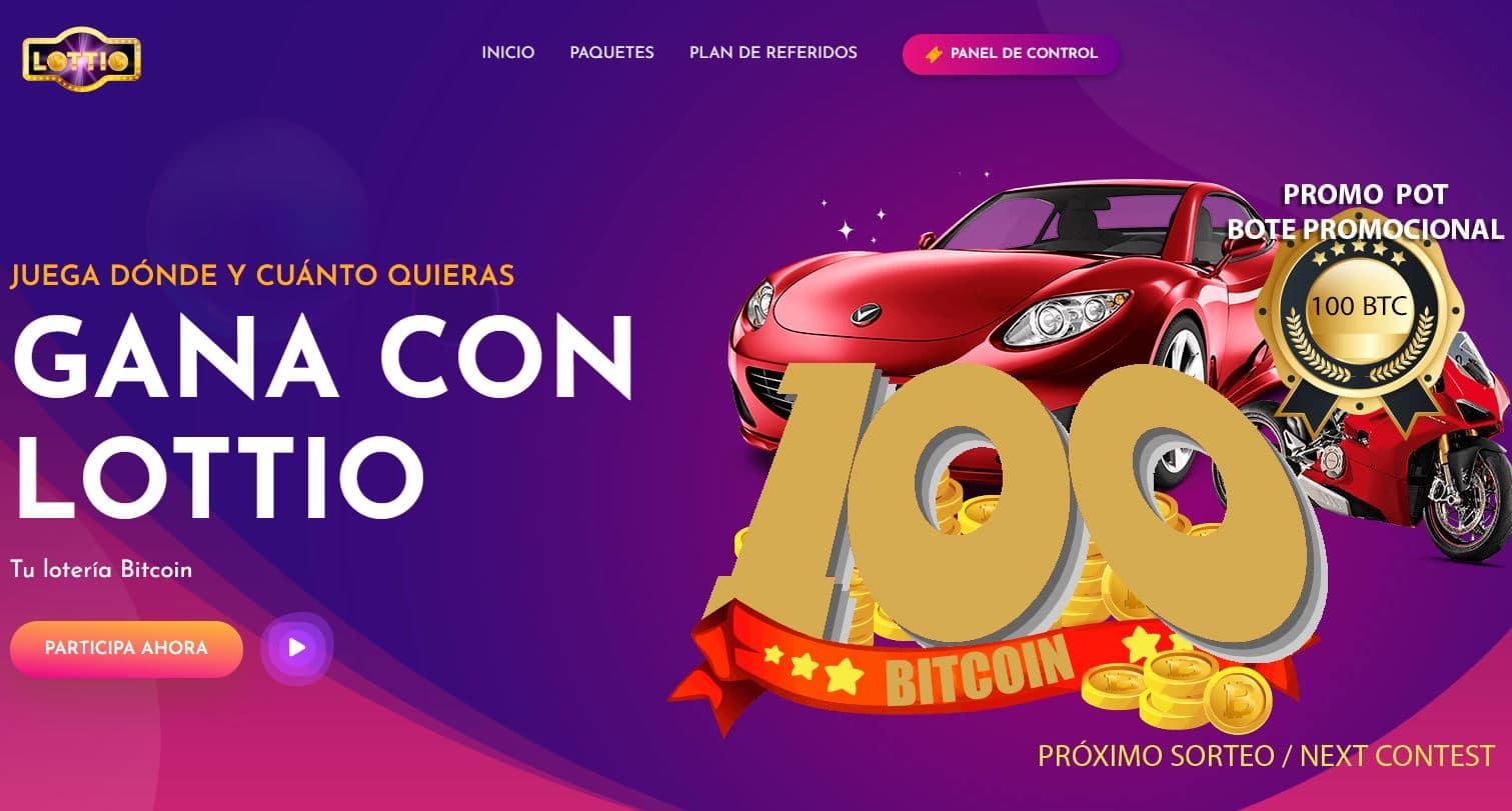 !!!! Lottio: lotería online bitcoin, anónima, verificable donde puedes montar tu propia administración de lotería !!!! $$$$$