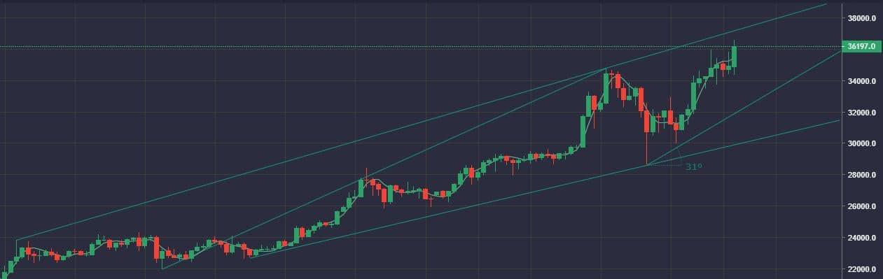 Los exchanges se siguen vaciando de Bitcoin La desconfianza en el sistema favorece a Bitcoin.