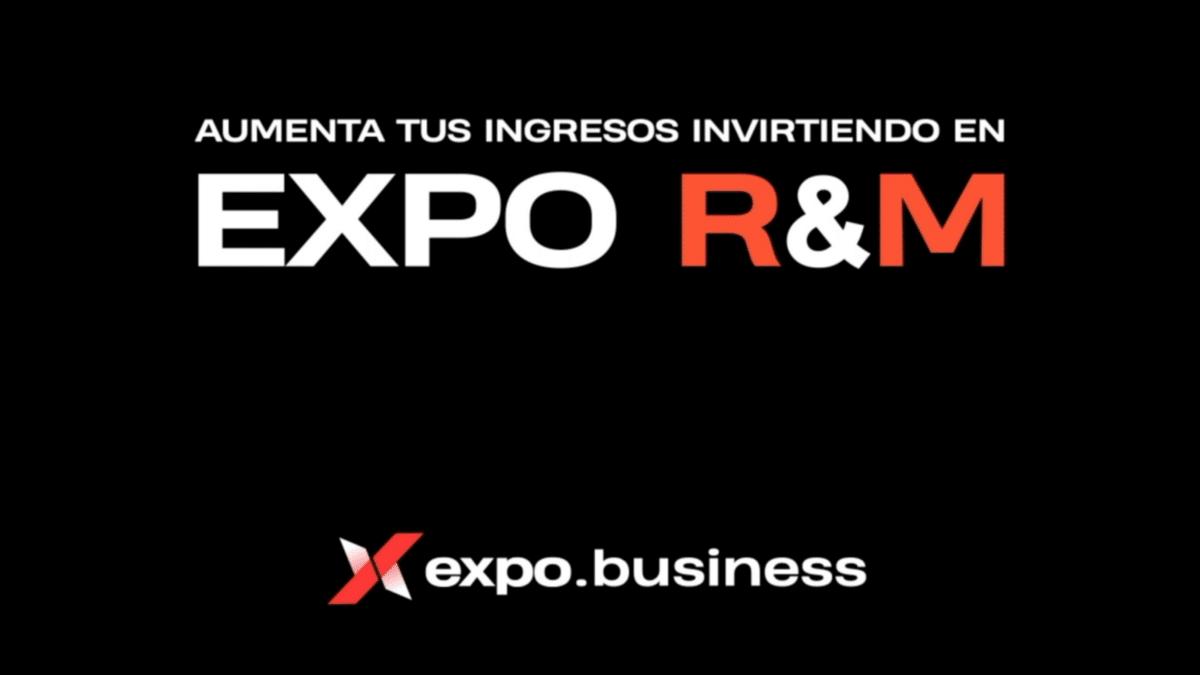 Compramos acciones de EXPO R&M: GANE EN DIGITALES-TECNOLOGÍAS