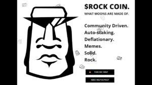 Lee más sobre el artículo $ROCK COIN: WHAT MOONS ARE MADE OF.: de lo que está hecha la lunas. Deflacionaria con auto stacking.