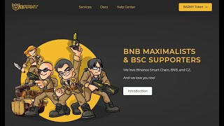 Lee más sobre el artículo BSC Army: El primer DAO para social media industries sobre la Binance Smart Chain: Token $BARMY