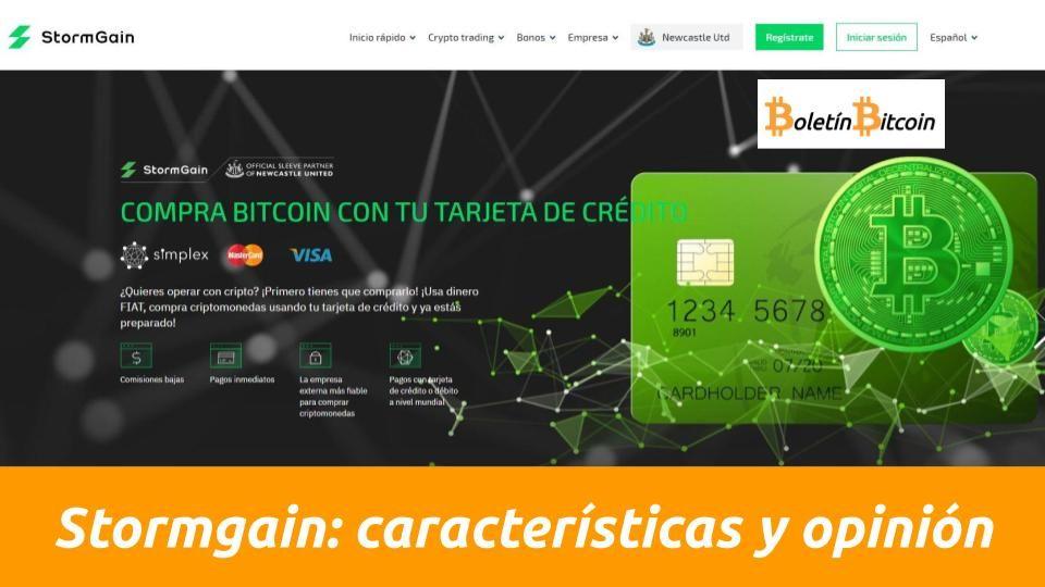 Lee más sobre el artículo Compra criptomonedas con tu tarjeta y retira por transferencia bancaria con StormGain