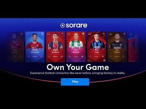 En este momento estás viendo Sorare: Own Your Game. Colecciona e intercambia cromos digitales de edición limitada. NFT Tokens.