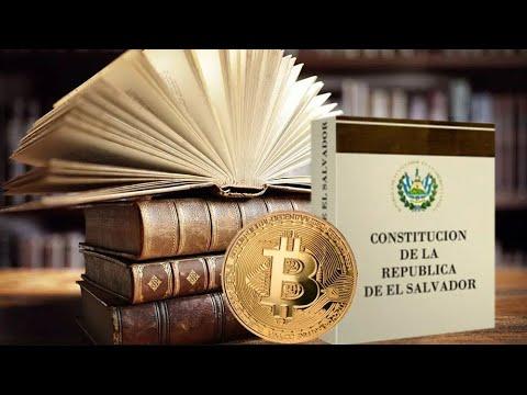 Lee más sobre el artículo Bitcoin en la constitución de un pais. El salvador marca la hoja de ruta de la adopción mundial de criptomonedas.