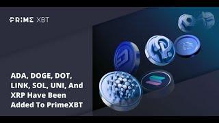 Lee más sobre el artículo Nuevos cruces criptomonedas en Primexbt: Uniswap Polkadot Cardano, DogeCoin Ripple Solana Chainlink